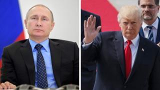 普京與特朗普