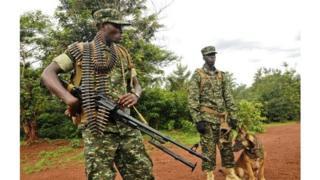 Les troupes ougandaises sont présentes depuis 2009 dans le nord-est de la Centrafrique.