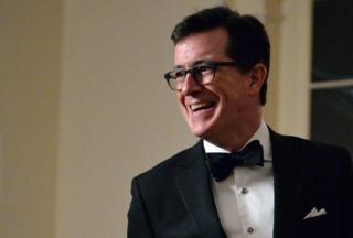 Comedian Stephen Colbert