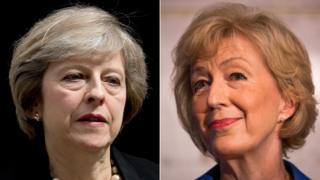 Theresa May na Andrea Leadsom