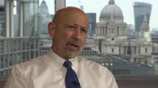 Ллойд Бланкфейн, исполнительный директор банка Goldman Sachs