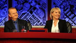 Ian Hislop and Nadine Dorries on Have I Got News For You