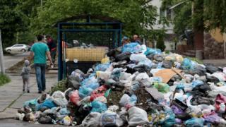 Во Львове накопилось более 12 тысяч тонн отходов