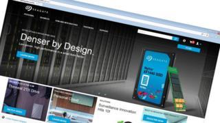 Seagate website
