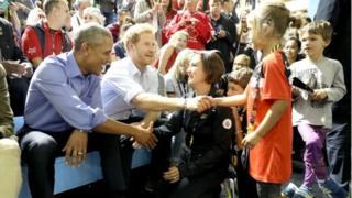 Obama na Harry