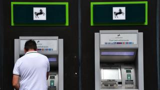 Lloyds Bank cash machine