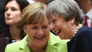 Меркель и Мэй