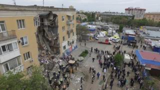 дом в Волгограде, в котором произошел взрыв