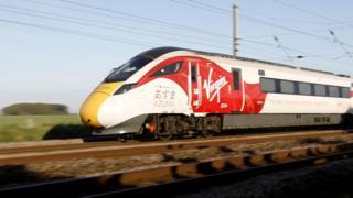 Virgin Trains new Azuma train