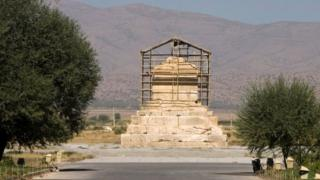 The tomb of Cyrus the Great in Pasargadae, Iran. File photo