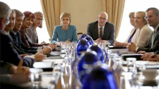 Scottish Cabinet meeting from 2016