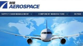 MB Aerospace website
