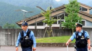 Полицейские в Сагамихаре