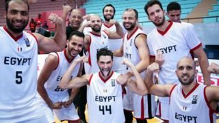 L'équipe d'Egypte a éclaboussé celle d'Afrique du Sud sur le score de 70 à 51