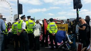 Disability benefit cuts protest