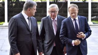 В Киеве проходит саммит Украина-ЕС