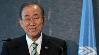 国連の潘基文事務総長(今年9月、ニュージーランドで)