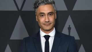 Taika Waititi at an Oscar event in Los Angeles