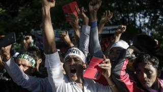 Demonstrasi Rohingya di Malaysia