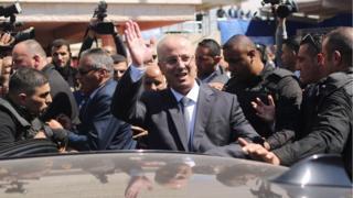 رامی حمدالله، نخست وزیر تشکیلات خودگردان فلسطینی