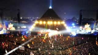 Glastonbury festival 2009