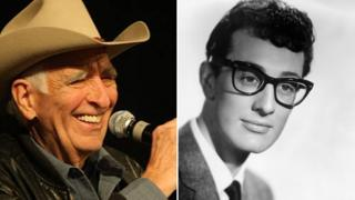 Tommy Allsup and Buddy Holly