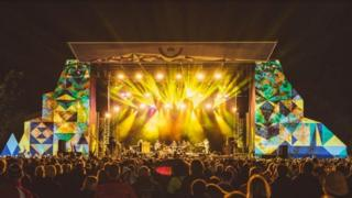 The Green Man festival main stage