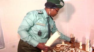 La Côte d'Ivoire a saisi 40 kg d'ivoire pur.