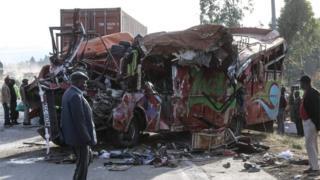 Ajali ya barabarani yauwa watu 36 nchini Kenya