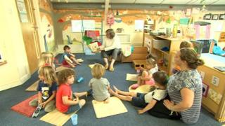 Carousel day care nursery in Middlezoy