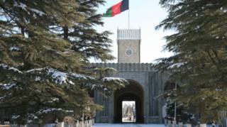 ارگ ریاست جمهوری افغانستان در مرکز شهر کابل واقع است