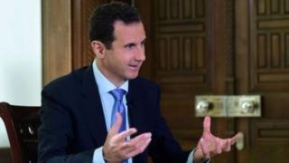 Prezida wa Syria Bashar al-Assad