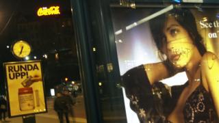Advert in Stockholm