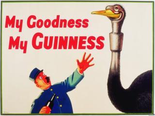 Guinness ostrich advert