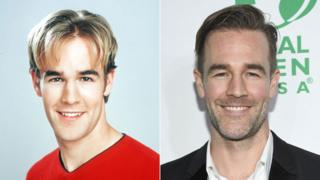 James Van Der Beek then and now