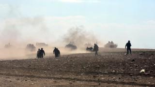 Войска сирийских повстанцев
