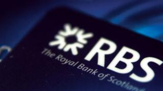 RBS bank card