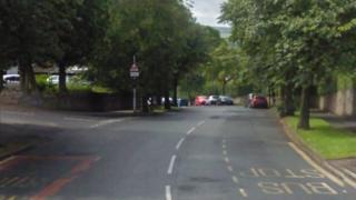 slade Lane near Adamson street