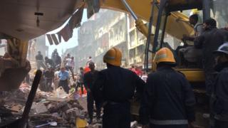 Mumbai building collapse on 31 August