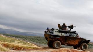 Türkiye - Suriye sınırındaki Türk askerleri