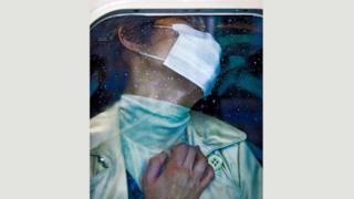 Michael Wolf, Tokyo Compression #70