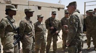 بیش از ۸۰۰۰ نیروی آمریکایی در افغانستان حضور دارند