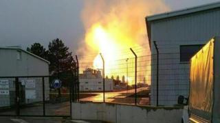 Explosion at Baumgarten, 12 Dec 17