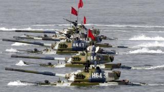 قطع عسكرية صينية