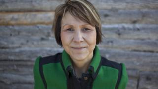 Cindy Blackstock,2010 Atkinson Fellow and executive director and founder of the First Nations Child and Family Caring Society of Canada poses for a portrait on Victoria Island in Ottawa, Ontario.