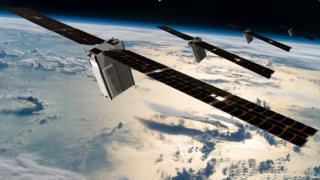 Sky and Space Global's nano-satellites