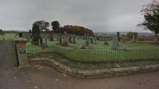 Lelsie Cemetery in Glenrothes