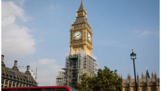 Big Ben in Elizabeth Tower
