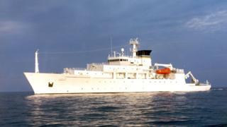 美国海洋测绘船