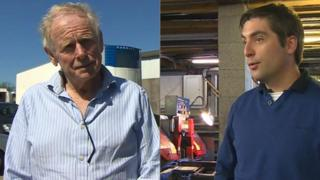Anglesey businessmen David Williams and Grant Bond